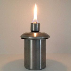 Firefly Stainless Steel Firepot Insert Tiki Torch Canister
