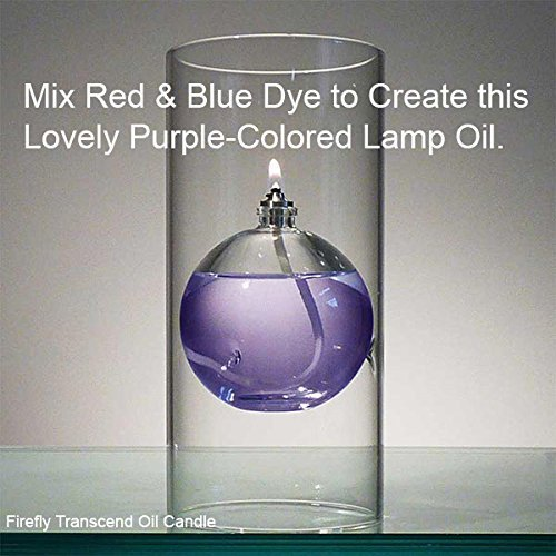 Firefly Transcend Oil Lamp Color with Blue & Red Dye to Create Purple
