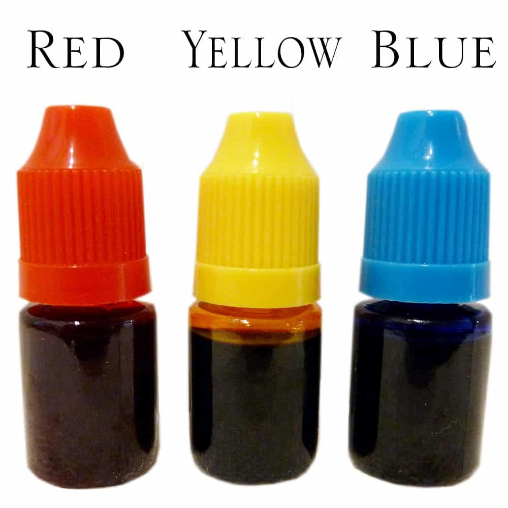 How to Color Lamp Oil?