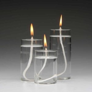 Firefly Refillable Pillar Candles Oil