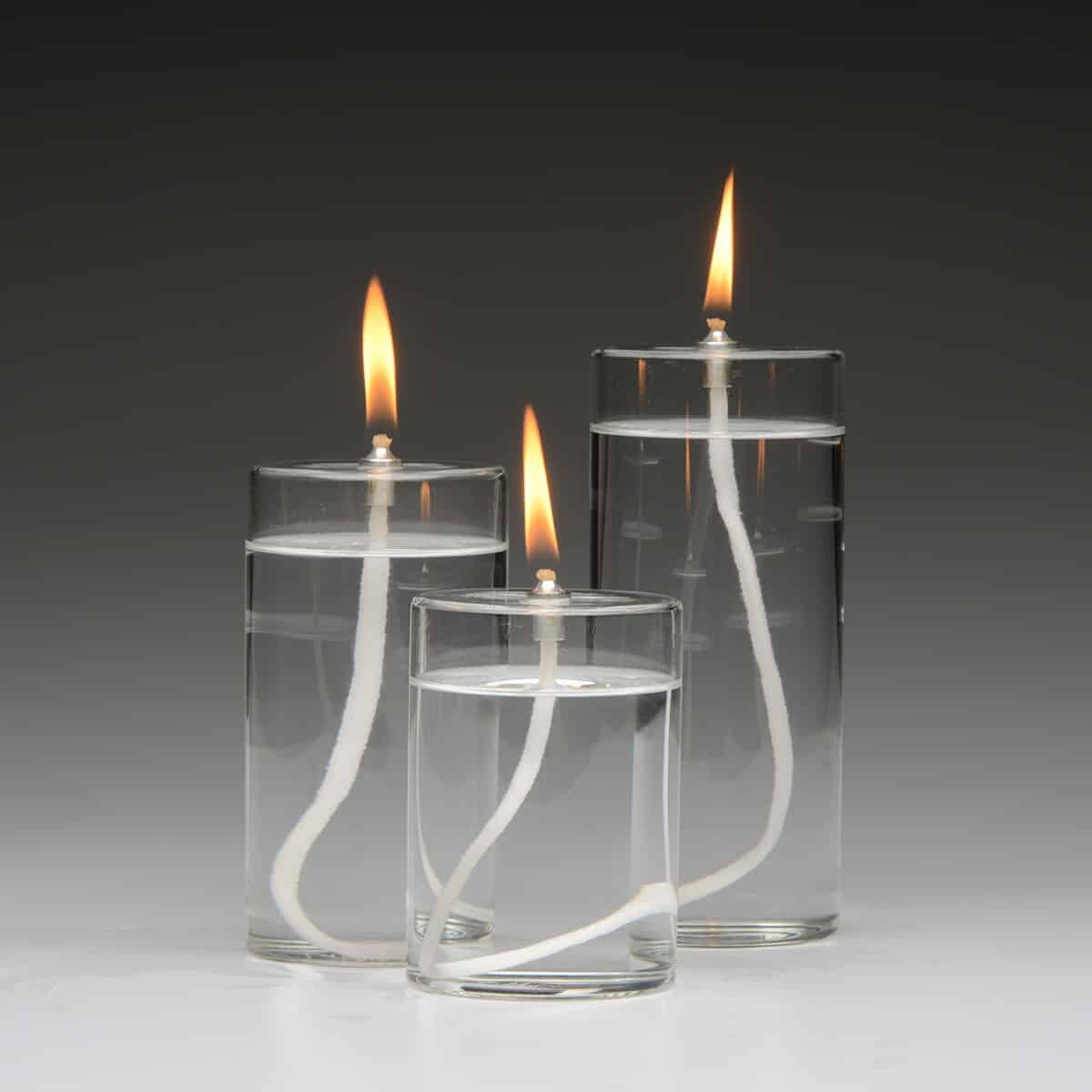 Firefly Refillable Pillar Candles Oil