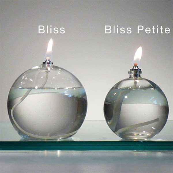 Firefly Bliss and Bliss Petite Refillable Oil Candles