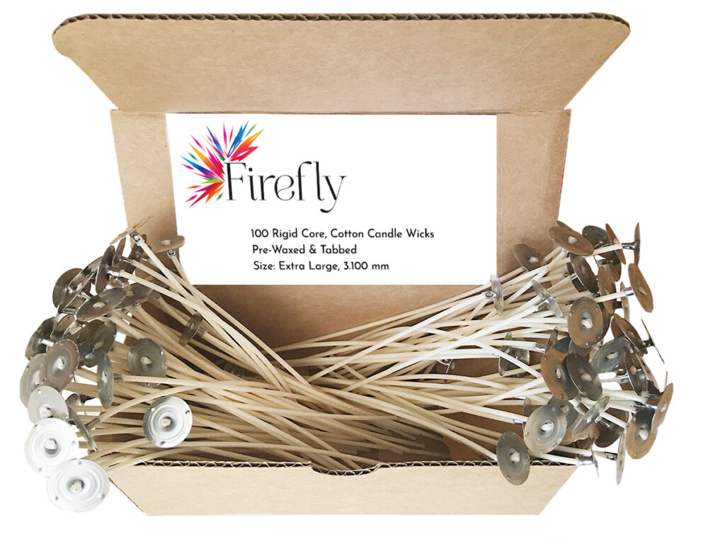 Rigid Core Wax Candle Wicks - Extra Large