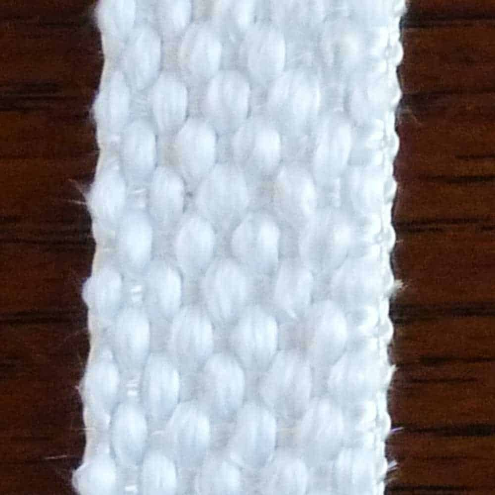 Flat Cotton Wick for Hurricane Lanterns